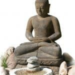Buddha Meditation Steine