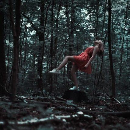 Forest Girl Red Dress -FreeStockPhotos.io-640x427